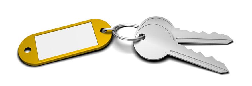 Des portes-clés personnalisées